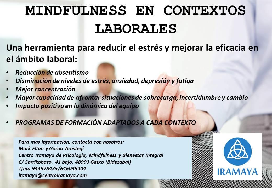 Mindfulness Contextos Laborales